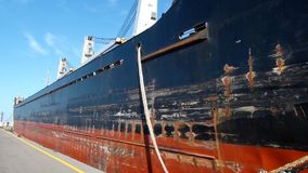 Merchandise ship Royalty Free Stock Image