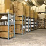 Merchandise Stocking Royalty Free Stock Image