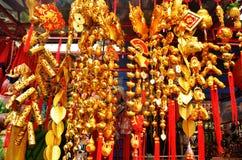 Merchandise. Taken a photo in China Village Royalty Free Stock Photos