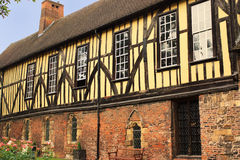 The Merchant Adventurer's Hall - 1357, York, England stock photos
