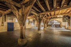 The Merchant Adventurers Hall The Undercroft Stock Images