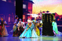 """The merchant of Arabia-Large scale scenarios show"""" The road legend"""". The drama about a Han Princess and king of Tibet Song Xan Gan Bbu and the story Stock Photography"""
