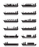 Merchant and cargo ships Stock Photos