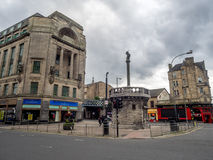 Merchant City with the Tolbooth Steeple Royalty Free Stock Images