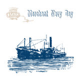 Merchant_Navy_Day Στοκ Εικόνες