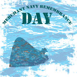 Merchant_Navy_Remembrance Στοκ Φωτογραφία