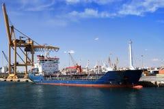 Merchant in port Royalty Free Stock Photos