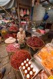 Merchant sale chilli Royalty Free Stock Photography