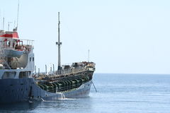 Merchant ship Royalty Free Stock Images