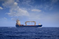 Merchant ship Royalty Free Stock Photo