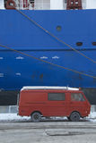 Merchant ship Stock Photography