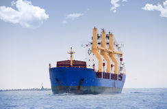 Merchant ship Royalty Free Stock Photo