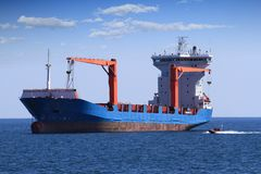 Merchant ship Royalty Free Stock Image