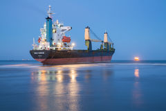 Merchant Ship Stock Photo