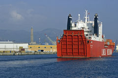 Merchant ship Messina Royalty Free Stock Photography