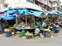 Merchant stall in Mumbai,India Royalty Free Stock Images