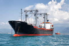 Merchant vessel Royalty Free Stock Photos