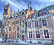 Merchants' Houses in Bruges / Brugge, Belgium Stock Photo