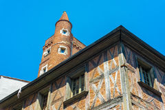 Merchants towers in Toulouse, France. Royalty Free Stock Photo