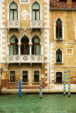 Merchat Houses In Venice Stock Photo