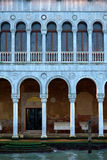 Merchat houses in Venice royalty free stock photo