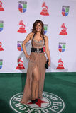 Merche arrives at the 12th Annual Latin GRAMMY Awards Stock Photos