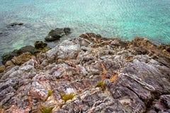 Merci île de Fook photo stock