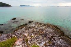 Merci île de Fook Photos stock