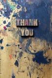 Merci image libre de droits