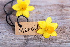 Merci Royalty Free Stock Images