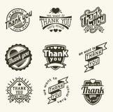 Merci badge Images libres de droits