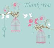 Merci carder illustration stock