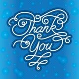 Merci fond Image stock