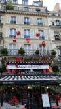 Merci Johnny Memorial, Natal em Paris Fotos de Stock