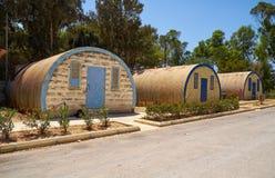 Merci le ` Qali ouvre le village dans Attard, Malte photographie stock libre de droits