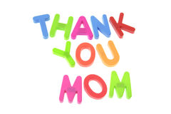 Merci maman image stock