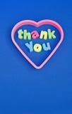 Merci message. photo libre de droits