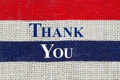 Merci message photos libres de droits
