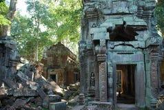 Merci temple de Prohm, Angkor, Cambodge photos libres de droits