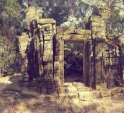 Merci temple de Prohm dans Angkor Tohm Photographie stock libre de droits