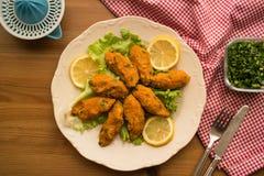 Mercimek Koftesi/τουρκικά τρόφιμα με Bulgur και τη φακή Στοκ φωτογραφία με δικαίωμα ελεύθερης χρήσης