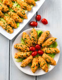 Mercimek Koftesi, alimento turco com Bulgur e lentilha Imagem de Stock