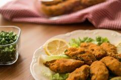 Mercimek Koftesi/türkisches Lebensmittel mit Bulgur und Linse stockbild