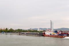 Mercur 201 ładunku łódź Obrazy Royalty Free