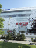 Mercur Shopping Center, Craiova, Romania. Mercur Shopping Center at Mihai Viteazu square in Craiova, Romania. Craiova is Romania`s 6th largest city and capital royalty free stock photography
