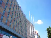 Mercure Hotel building stock footage