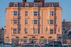Mercure Hotel an der Seeseite von Brighton England - BRIGHTON, VEREINIGTES KÖNIGREICH - 27. FEBRUAR 2019 lizenzfreie stockbilder