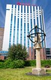 Mercure Hotelowy Gdański - widok od parka Obrazy Stock