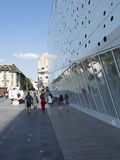 Mercurwinkelcentrum, Craiova, Roemenië stock fotografie