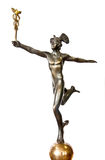 Mercury. God of commerce. An antique statue Royalty Free Stock Photography